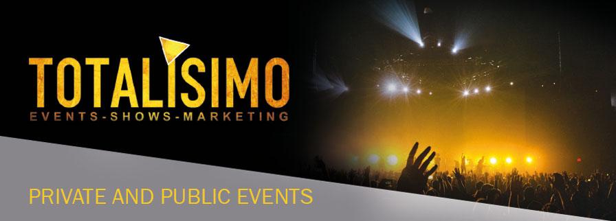 Eventos Públicos y Privados