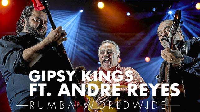 gipsy kings adre reyes booking