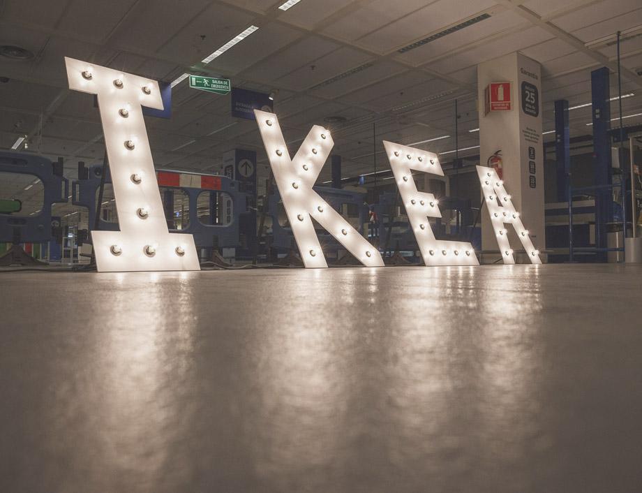 IKEA iluminación