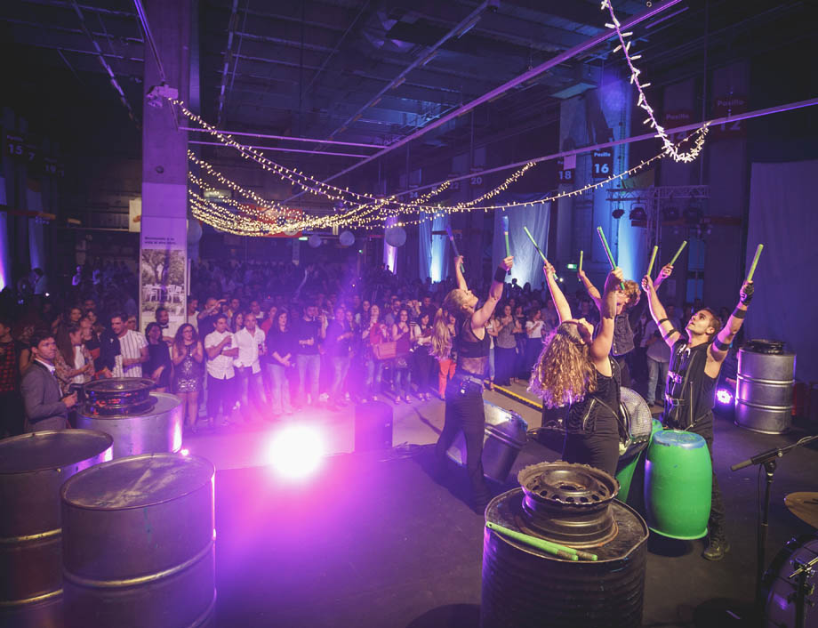 Batukada escenario