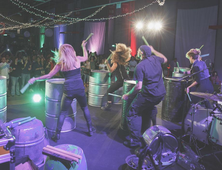 Percusión evento
