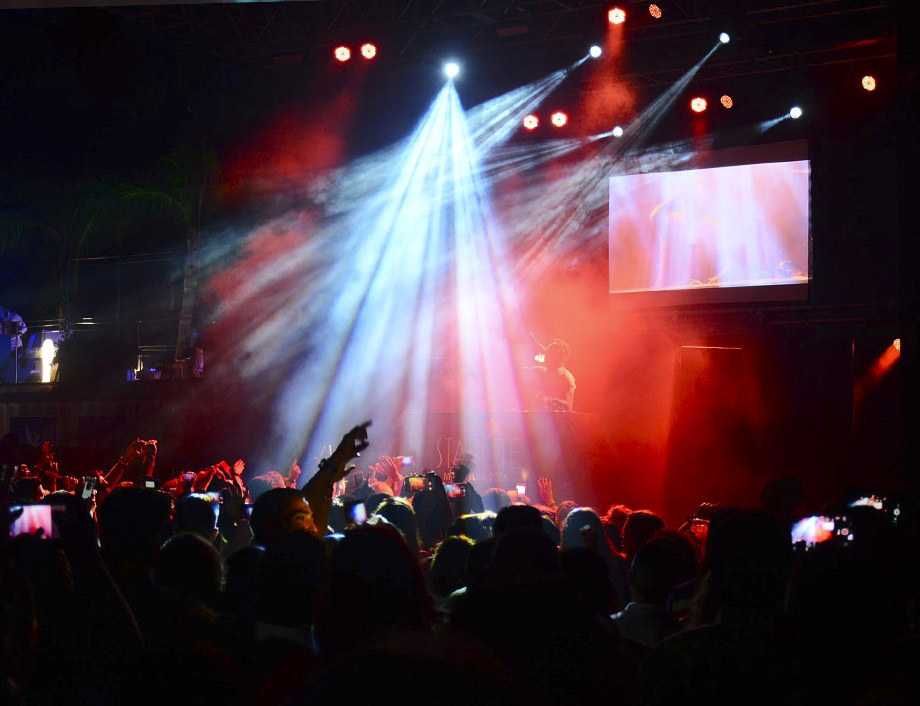 Startlite concierto