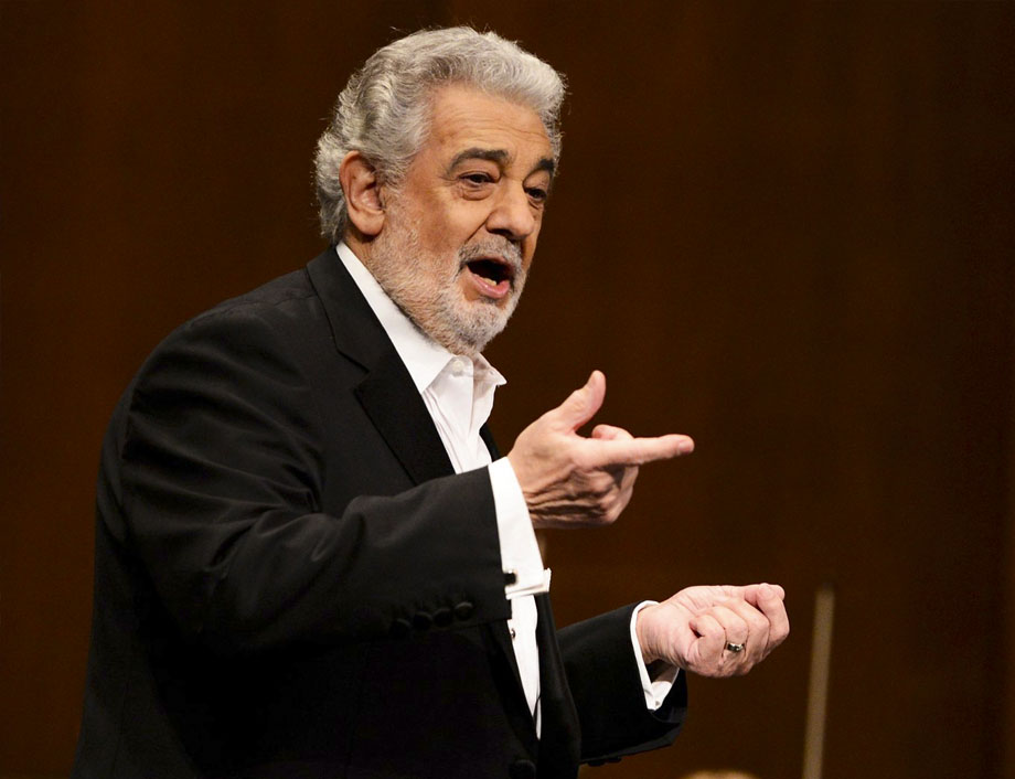 Plácido Domingo evento, recital en directo
