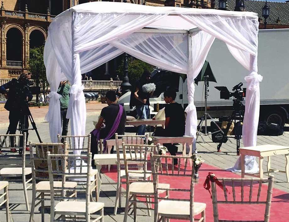Plaza de España boda