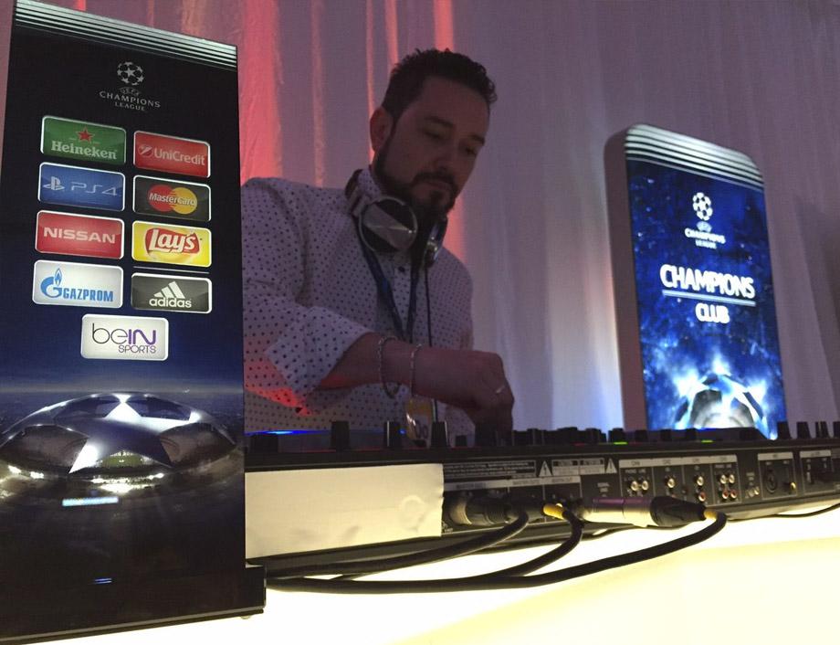 DJ Vobdil UEFA