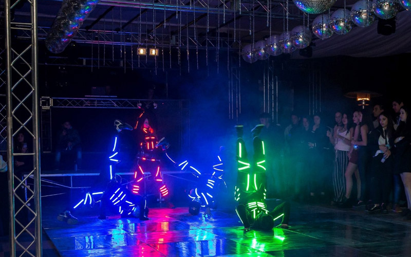 Show led baile