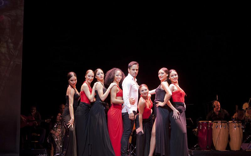 espectáculo flamenco, curro de candela