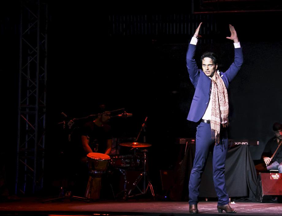 Bailaor Flamenco percusión