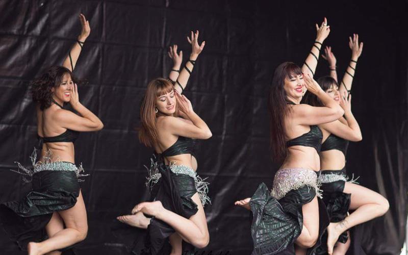 Bailarinas danza oriental