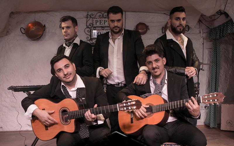 contratación de gipsy king tribute flamenco