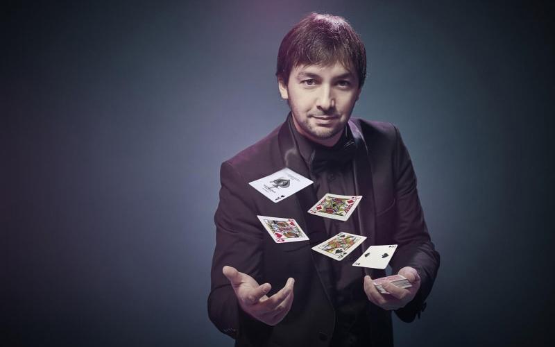 Show cartas magia