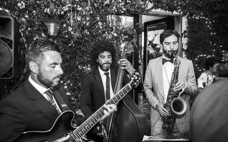 Jazz contratación musica elegante
