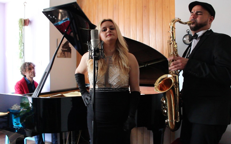 saxofonista y cantante de jazz