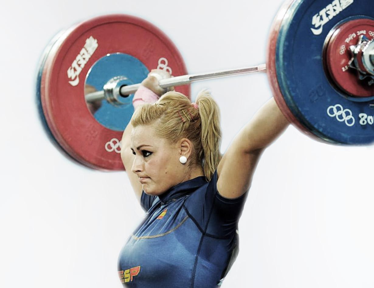 Lidia Valentín deportista halterofilia