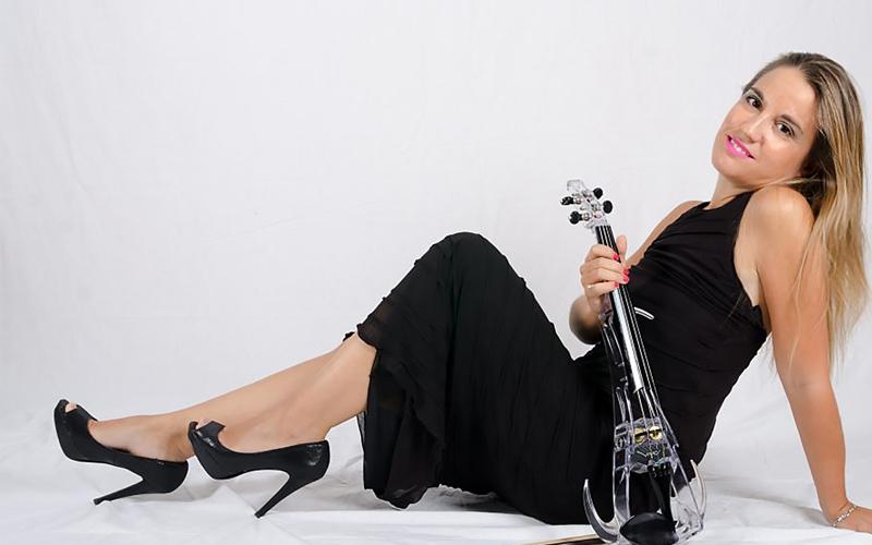 Raque Cabello violín