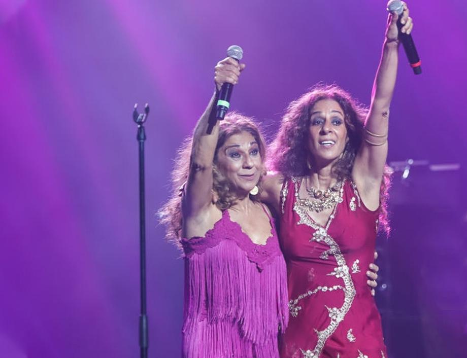 Lolita y Rosario Flores